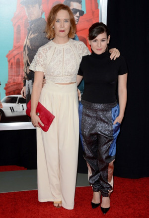 Yael Stone Picture 3 The Man from U N C L E New York Premiere Red