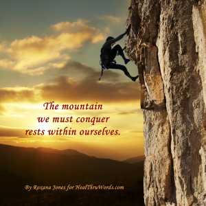 Inspirational Image: Our Mountain