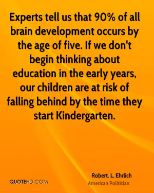 ... are at risk of falling behind by the time they start Kindergarten