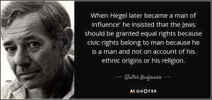 TOP 7 QUOTES BY WALTER KAUFMANN | A-Z Quotes