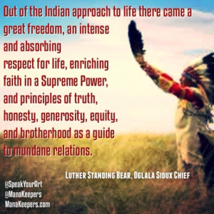 Native American Wisdom, Images and Quotes Collection