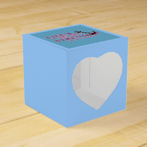 Anchor Strength Quote Wedding Favor Boxes