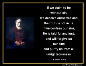 Confession of Sins Quotes