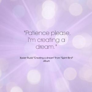 Xavier Rudd - creating a dream