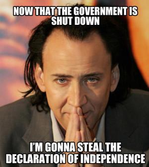 Beware of Nicolas Cage…