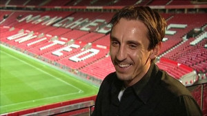 Gary Neville says Manchester United is just getting into Champions ...