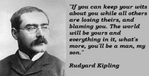 Rudyard kipling quotes 1