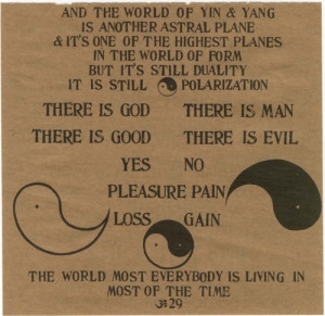 Ram Dass Be Here Now picture