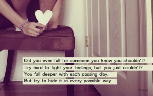 Love Quotes fight fall hard passing possible way