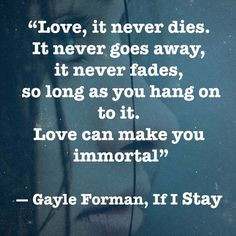 if i stay movie network more poems quotes young adult book quotes ...