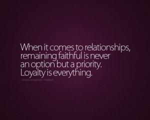 faithful_life_love_love_quotes_love_sayings_loyalty ...