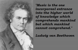 Beethoven Quotes Music Beethoven