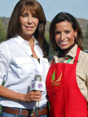 nutritionist, cookbook author and TV host, at the 2013 Sun Valley ...
