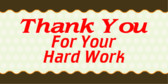 Thank You For Your Hard Work Images Thank you for your hard work