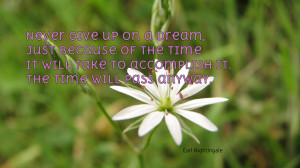 Naruto Quotes About Never Giving Up Never give up on a dream