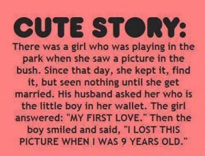 Cute Story...