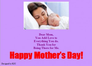 ... Add Love to Everything You Do - Sayings & Quotes about Mother's Day