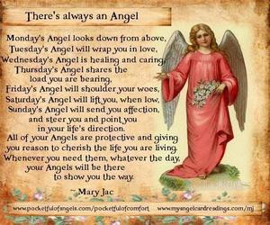 Saturday's Angel will lift you, when low,