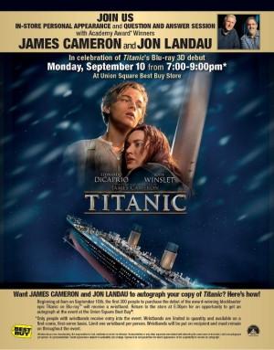 in New York City?! Join legendary director James Cameron & Jon Landau ...
