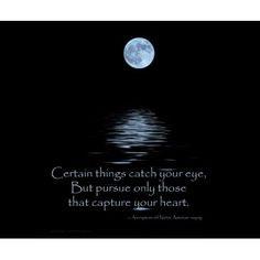 MOUSEPAD, Full Moon and Native American saying