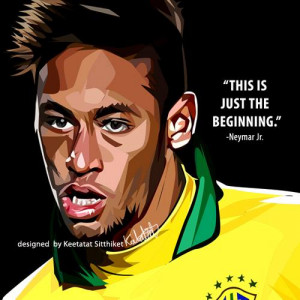 neymar jr quote £ 14 00 neymar jr quote this is just the beginning ...