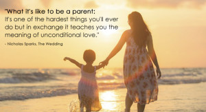 Unconditional Love For A Child Quotes Parenting-quote-unconditional-