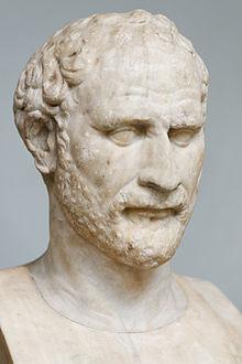 Bust of Demosthenes ( British Museum , London), Roman copy of a Greek ...