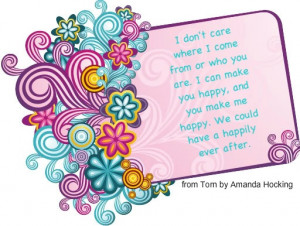 Torn by Amanda Hocking quote