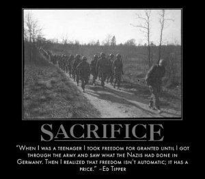 ... are some great examples of Self-Sacrifice from