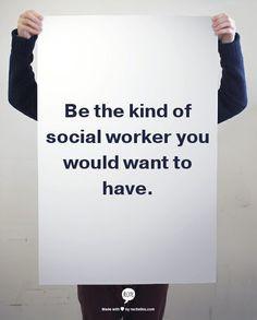 Social work.