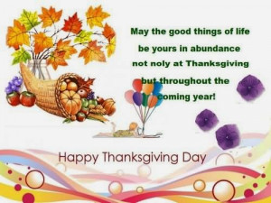 Happy Thanksgiving Day 2014 Pics with Quotes