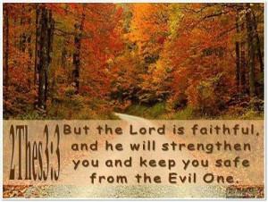 Pretty fall scene, Great Bible verse! | It's a 'Fall Thing'!!