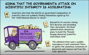 funny joke set about scientific integrity, cartoon bureaucrats, and ...