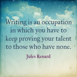 Writting Is An Occupation