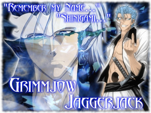 Grimmjow Jeagerjaques Grimmjow