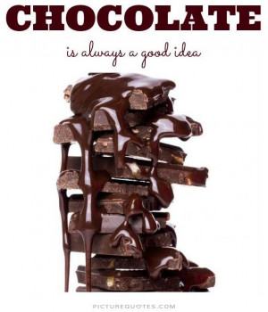 funny quotes about chocolate