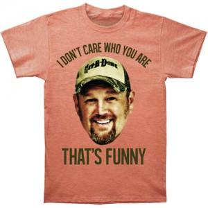 Larry The Cable Guy Don't Care T-shirt