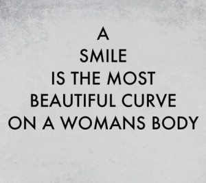 ... most beautiful curve on a woman's body. I love all of my curves ️