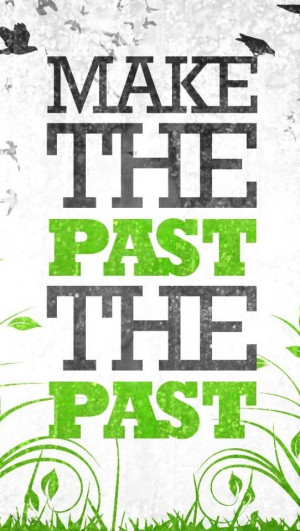 Quote about the past