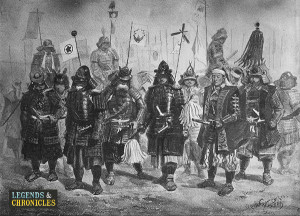 Japanese Warriors Back The