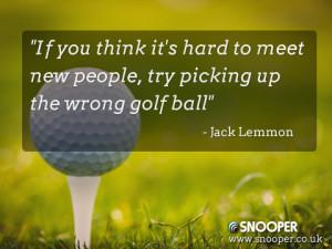 jack lemmon #golf quotes #golf #golfing #golfers