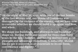 As a true conservative, Churchill did not wish to see the House of ...