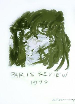 De Kooning Illustration for the Paris Review, 1970