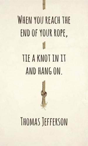 Pinnacle Performance Quotes / Hang In There...