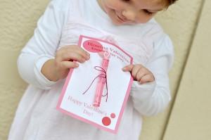 School V-day Card idea - so cute!