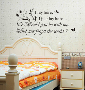 Factory-Wholesale-Famous-Quote-IF-I-LAY-HERE-SNOW-PATROL-Wall-Art ...