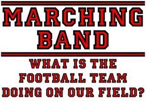 marching #band #marching bad #football #band jokes #funny #field
