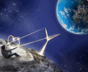When the power of love overcomes the love of power, the world will ...