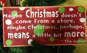 Grinch Christmas Quotes