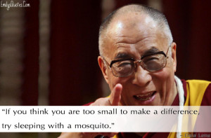 EmilysQuotesCom Dalai Lama Funny Difference Encouraging Wisdom. .Funny ...